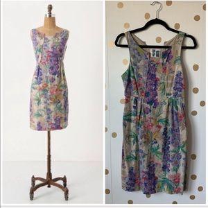 Anthropologie Hyacinth Afternoon Dress